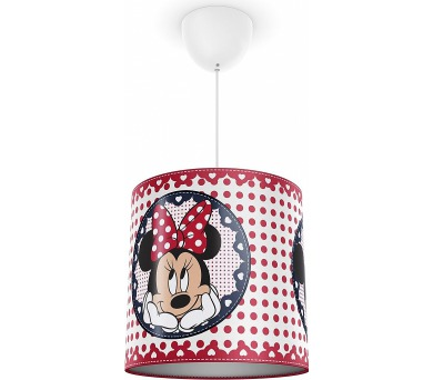 Disney Minnie Mouse SVÍTIDLO ZÁVĚSNÉ E27 1x23W bez zdroje Philips 71752/31/16 + DOPRAVA ZDARMA