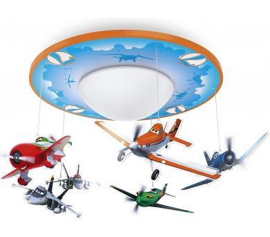 Disney Planes SVÍTIDLO STROPNÍ LED 450lm 2700K Philips 71762/53/16 + DOPRAVA ZDARMA