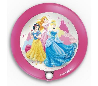 Disney Princess NOČNÍ SVÍT. SE SENZOREM LED 0,06W bez baterií Philips 71765/28/16
