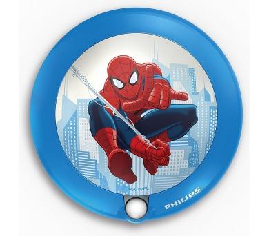 Disney Spider-man NOČNÍ SVÍT. SE SENZOREM LED 0,06W bez baterií Philips 71765/40/16