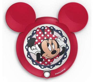 DISNEY SVÍTIDLO NOČNÍ SE SENZOREM Minnie Mouse Massive 71766/31/16