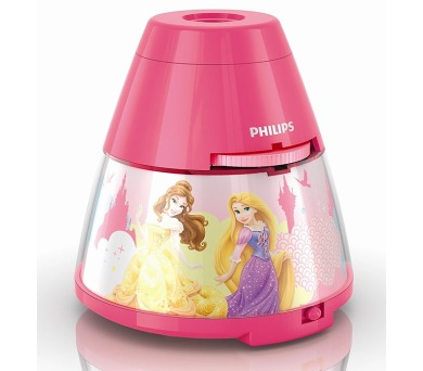 Disney Princess PROJEKTOR LED 0,1W bez baterií Philips 71769/28/16