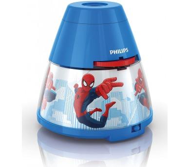 Disney Spider-man PROJEKTOR LED 0,1W bez baterií Philips 71769/40/16