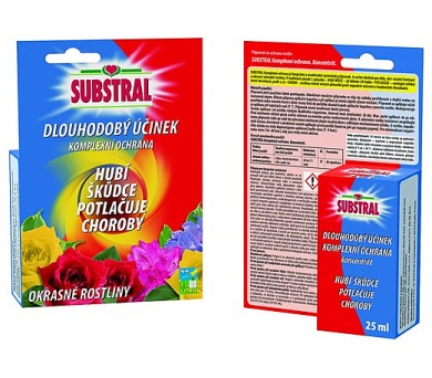 Postřik Substral komplexní ochrana rostlin 25 ml