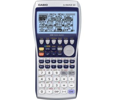 FX 9860G II SD (b) CASIO + DOPRAVA ZDARMA