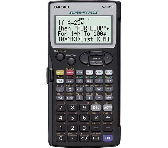 Casio FX 5800 P + DOPRAVA ZDARMA