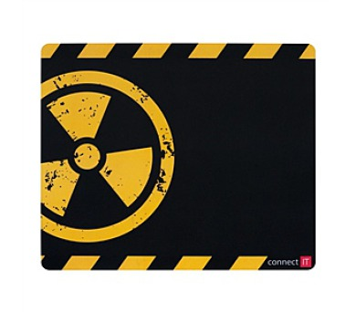 Podložka pod myš Connect IT Battle CI-125 malá - černá/žlutá