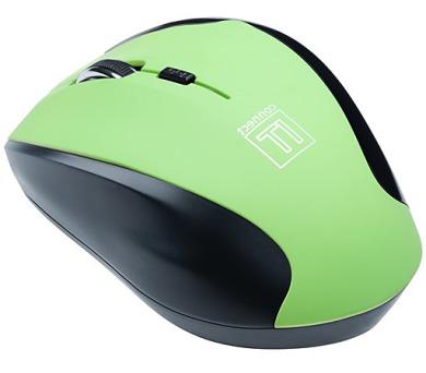Myš Connect IT Wireless CI-158 / optická / 5 tlačítek / 1600dpi - zelená