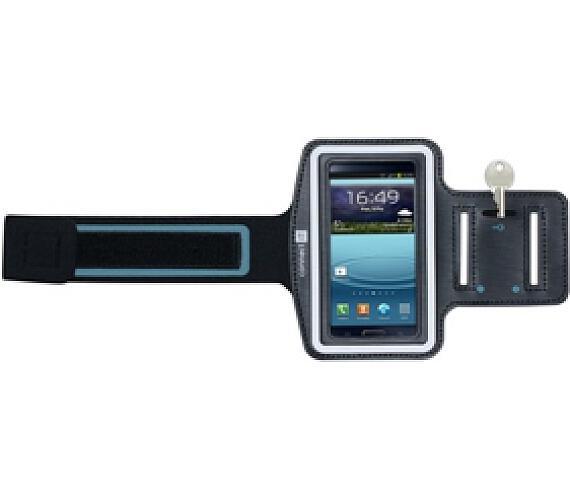 Pouzdro na mobil sportovní Connect IT pro Galaxy S4 - černé