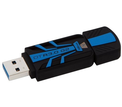 Kingston DataTraveler R3.0 G2 16GB USB 3.0 - černý/modrý
