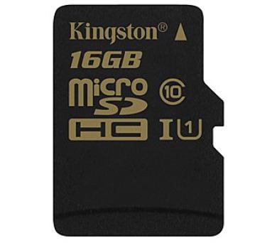 Kingston MicroSDHC 16GB UHS-I U1 (90R/45W)