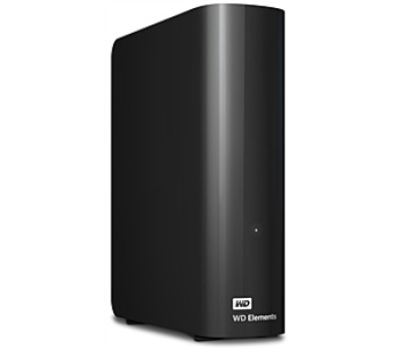 Western Digital Elements Desktop 4TB - černý