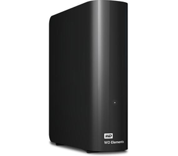"HDD ext. 3,5"" Western Digital Elements Desktop 4TB - černý + DOPRAVA ZDARMA"