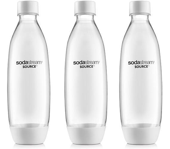 Sodastream SOURCE/PLAY 3Pack 1l bílá
