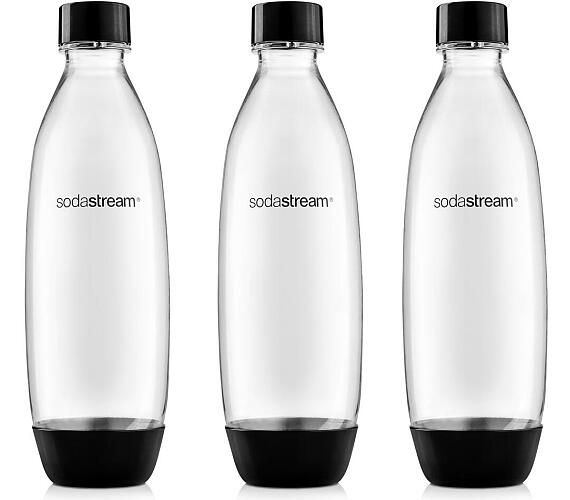 SodaStream SOURCE/PLAY 3Pack 1l černá