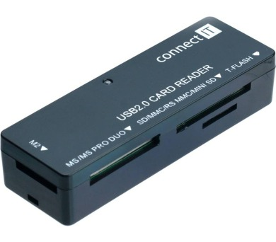Čtečka karet Connect IT ULTRA SLIM CI-56