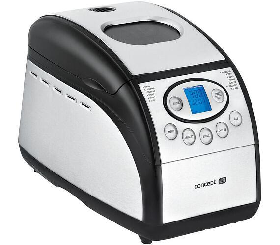 Concept PC5060 Pekárna chleba nerezová 12 programů