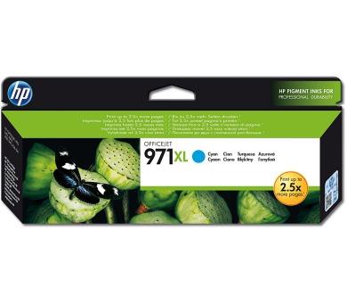 Inkoustová náplň HP 971XL azurová + DOPRAVA ZDARMA