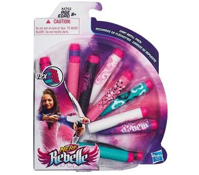 Hasbro Rebelle náhradní šipky 12 ks