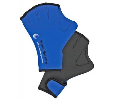 Plavecké rukavice Aqua Sphere Aquafitness M