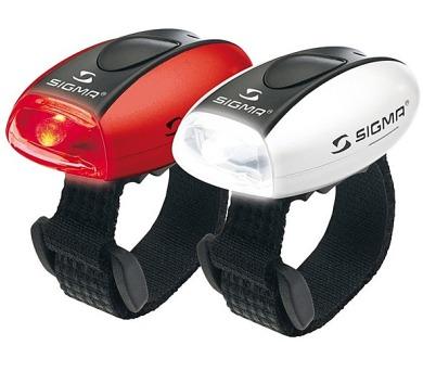 kolo Sigma sada - zadní a přední světlo Sigma MICRO + DOPRAVA ZDARMA