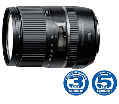 Tamron AF 16-300mm F/3.5-6.3 Di II VC PZD pro Canon + DOPRAVA ZDARMA
