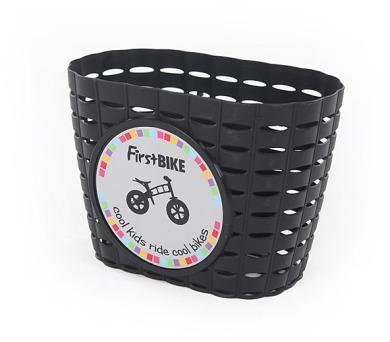 FirstBIKE košík na řidítka černý