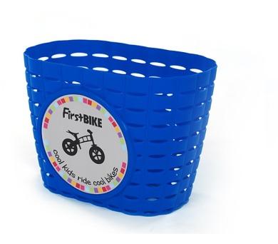 FirstBIKE košík na řidítka modrý
