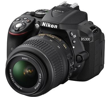 Nikon D5300 černý + 18-55 AF-S DX VR + ZDARMA powerbanka Nikon + DOPRAVA ZDARMA