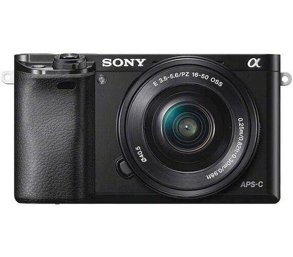 Sony Alpha 6000 + 16-50 OSS SEL + DOPRAVA ZDARMA