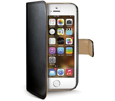 Celly Wally pro iPhone 5/5s/SE - černé