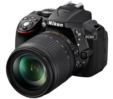Nikon D5300 + 18-105 AF-S VR + ČIŠTĚNÍ ČIPU ZDARMA!