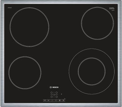 Bosch PKF 645B17E nerez rámeček + DOPRAVA ZDARMA