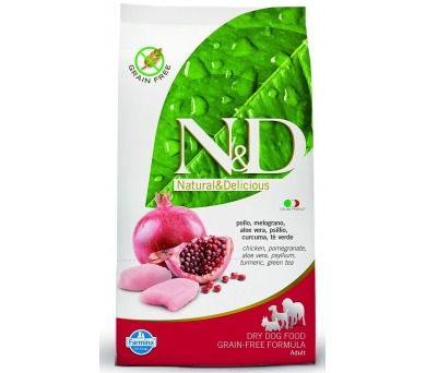 N&D Grain Free DOG Adult Chicken & Pomegranate 12kg