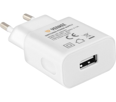 YAC 2003WH USB Nabíječka 1000mA Yenkee