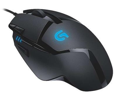 Logitech Gaming G402 Hyperion Fury / laserová / 8 tlačítek / 4000dpi - černá