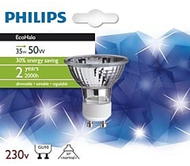 AH EcoHalo Twist 35W GU10 50D 1BC/4 Massive 8727900252958