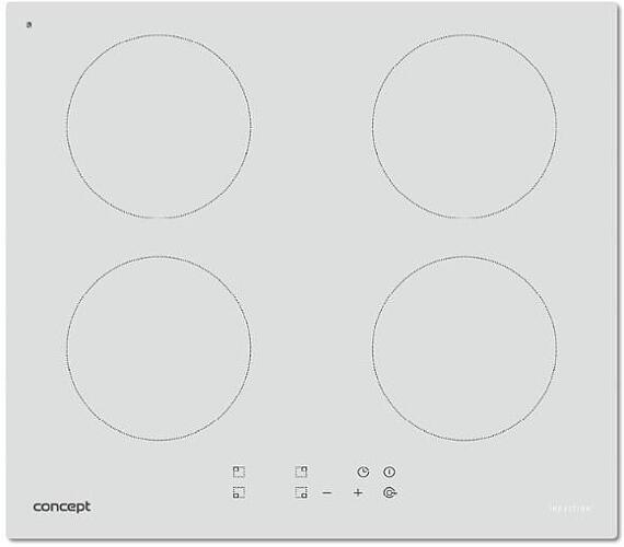 Concept IDV2660wh Indukční deska vestavná 60 cm WHITE + DOPRAVA ZDARMA