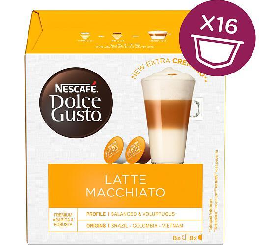 NESCAFÉ Latte Macchiatto 16 ks k Dolce Gusto