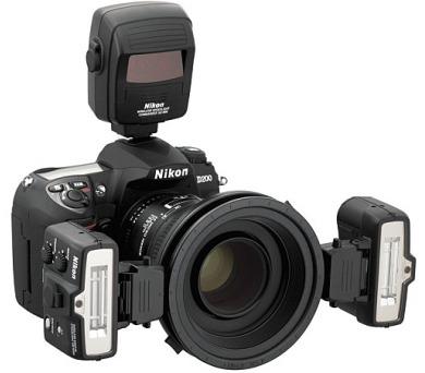 Nikon SB-R1 MAKRO ZÁBLESKOVÝ KIT (bez SU-800) (2x SB-R200