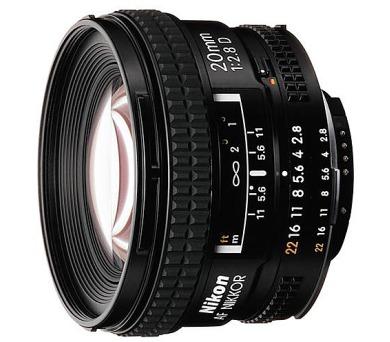 Nikon 20MM F2.8 AF D A + DOPRAVA ZDARMA