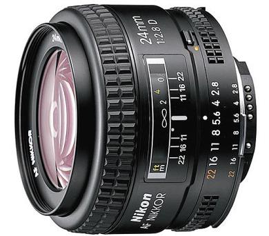Nikon 24MM F2.8 AF D A + DOPRAVA ZDARMA