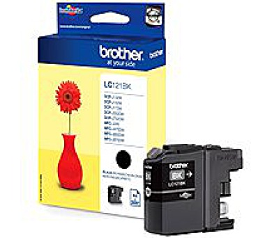 Brother LC121BK black | DCP-J552DW/MFC-J470DW