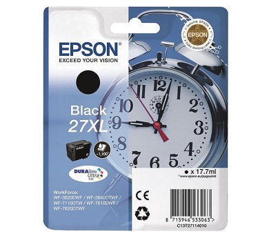Epson Black 27XL DURABrite Ultra Ink