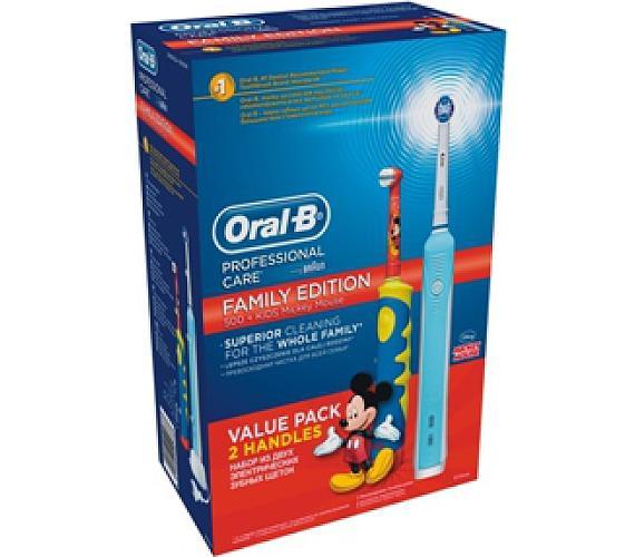 Oral-B Rodinné balení (Precision Clean 500 + Mickey kartáček DB10K)