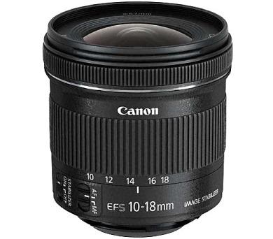 Canon EF-S 10-18mm f/4.5-5,6 IS STM + DOPRAVA ZDARMA