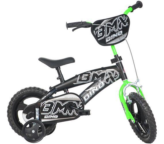 """ACRA Dino BMX černá 12"""" 2014 + DOPRAVA ZDARMA"""