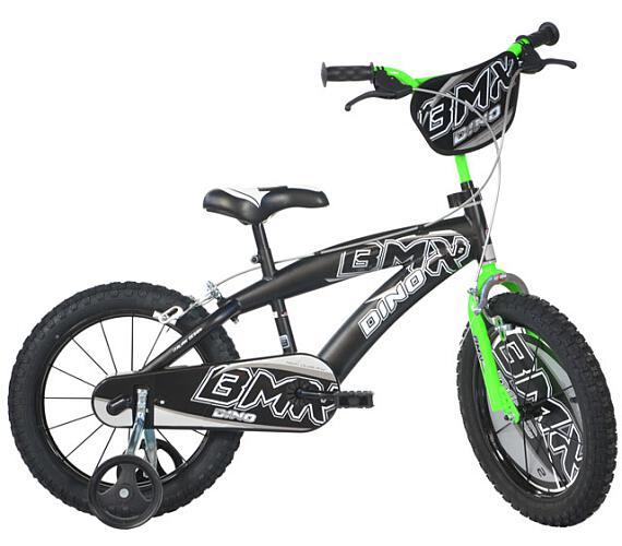 """Dino BMX 165XC černá 16"""" 2014 dětské kolo + DOPRAVA ZDARMA"""