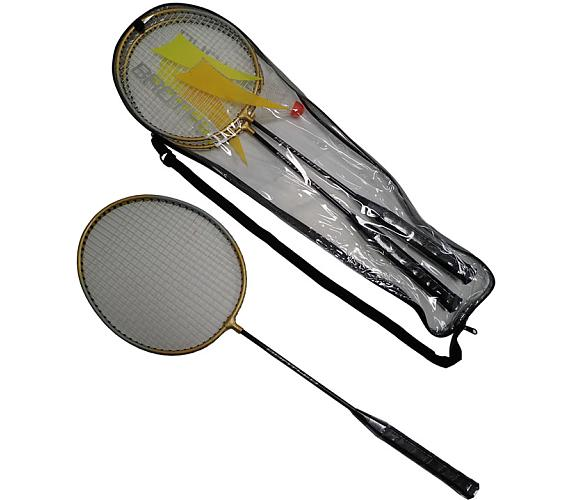 ACRA Badmintonová sada - 2 rakety+ košíček