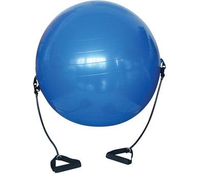 ACRA Gymnastický míč s expandéry - 650 mm